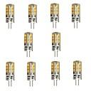 ywxlight® 3 w vedla g4 bi-pin kontrolkami 24 SMD 2835 270 lm teplé bílé DC 12 V 10 ks
