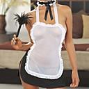 Žene Seksi spavaćica / kineska haljina Noćno rublje Kolaž-Drugo Bijela