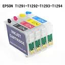 エプソンスタイラス用bloom®4個129 t1291 / t1292 / t1293 / t1294詰め替え可能なインクカートリッジbx305f / bx305fw / bx525wd / bx625f