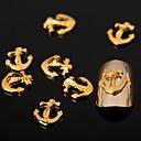 50pcs srebrne legure nail art ukrasa za nokte Nakit za nokte i salon dnevnoj DIY manikuru