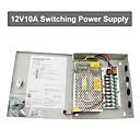 12V 10A DC 9 napajanja box auto-reset / 12v10a 120W napajanje / prekidač napajanja, 110 / 220V AC ulaz