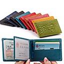 人々& ライセンスprotectioncardを駆動する女性の本革の財布財布& IDホルダー