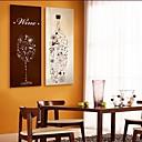 E-home® pruži platnu si bocama i čašama ukras slikarstvo set 2