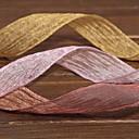 純色 オーガンザ 結婚式のリボン ワンピース/セット オーガンザリボン
