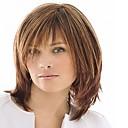bez krytky mix barev střední délky vysoce kvalitní přírodní rovné vlasy syntetické paruka s plnou třesku