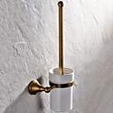 starinski mesing zidni WC četka držač kupaonica pribor
