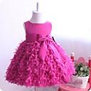 Dívka je Jednobarevné Léto Šaty Směs bavlny Vícebrevná