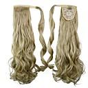 izvrsna kvaliteta sintetička Isječak u rep 26 inča dugo kovrčave kose komad
