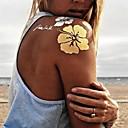 1ks nové zlatý náhrdelník náramek tetování dočasné tetování nálepka kůžičky tetování růže blesk tetování stran tetování