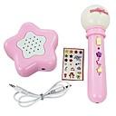 elektroničke igračke glazbene instrumente baterija-rukovođen mikrofon sa glasno-govornika + 9pcs glazbenu pratnju + 2pcs