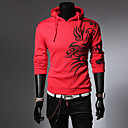 Muška Activewear Setovi Dugih rukava - Ležerne prilike , Print Mješavina pamuka/Spandex