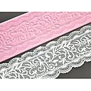četiri-c čipka torta plijesni silikon čipka tepih ukras jastuk za tortu pečenje, silikon mat Fondant za torte alati boja roza