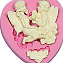 ljubav anđeo silikonska kalupa torte gornji desni Zalijepi Fondant fimo sapun čokolada silikonske plijesni