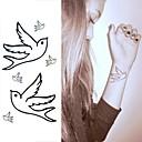 holub mírumilovný tetování nálepky dočasné tetování (1 ks)