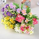 """12.9 """"l sada 1 přírodních 7 poboček sedmikrásky hedvábí květiny"""