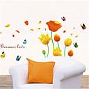 zidne naljepnice zidne naljepnice, leptiri i cvijeće PVC zidne naljepnice