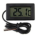 mini digitalni termometar hladnjak black LCD display4.8 * 2,85 * 1,5 cm