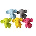 slatka slon okupiti gumeni brisač (Random boja)