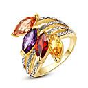 Prstenje Moda Party Jewelry Legura Žene Prstenje sa stavom 1pc,Univerzalna veličina Zlatna