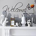 ウォールステッカーウォールステッカー、スタイル歓迎自宅の英単語&PVCウォールステッカーを引用