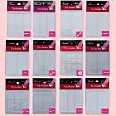 12 sáčků různých styl 420 ks nail art nástroj francouzské příruček manikúra tip (12ks)
