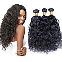 Lidské vlasy Vazby Peruánské vlasy Mírné vlny 12 měsíců 3 kusy Vazby na vlasy