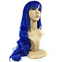 europskim i američkim modni kvalitetna sintetička plava perika