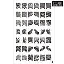 42 uzorak nail art pečat štancanje tanjur slika predloška