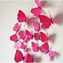 trodimenzionalna simulacija leptira zidne naljepnice (12pcs)