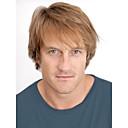 トップグレードキャップレスの品質モノトップ人間の髪の毛の男性のかつら選択する9色