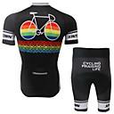 Biciklistička majica s kratkim hlačama Muškarci / Uniseks Kratki rukav BiciklProzračnost / Quick dry / Anatomski dizajn / Ultraviolet