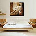 olejomalby jeden panel moderní abstraktní znak ručně malovaná plátna připraven k zavěšení