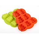 nose u obliku silikonski kalupi za pečenje led / čokolade / kolač kalup (slučajni boje)