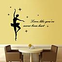 nástěnné samolepky lepicí obrazy na stěnu ve stylu balet PVC samolepky na zeď