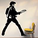 samolepky na zeď na stěnu, Elvis pvc samolepky na zeď