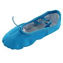 Non Přizpůsobitelné - Dámské - Taneční boty - Břišní tanec / Balet / Jóga / Gymnastika - Plátno - Bez podpatku - Modrá