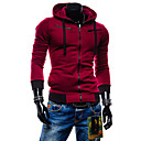 Men's Hoodie Coats & Jackets , Cotton / Cotton Blend Long Sleeve Casual Fashion Winter / Spring / Fall YTFT
