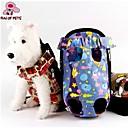 ネコ 犬 キャリーバッグ ペット用 バスケット 携帯用 パープル ファブリック