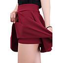 婦人向け セクシー / ヴィンテージ / カジュアル 膝上 スカート,伸縮地 マイクロエラスティック