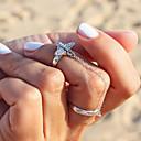 Prstýnky Módní Párty Šperky Slitina Dámské Midi prsteny 1Nastavte,Jedna velikost Stříbrná