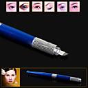 PCDの眉毛マニュアルペン位置決めタトゥーマシンペンは、プロの装飾的な操作ツール10から0087ラック