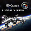 fy310b 2.4G 4CH afstandsbediening helikopter 6 assige gyro rc quadcopter met camera