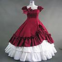 steampunk®gothic vino crveno Lolita prerušiti haljina renesansna faire odjeća