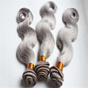 Ljudske kose plete Brazilska kosa Tijelo Wave 3 komada kosa isprepliće