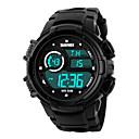 Pánské Náramkové hodinky Digitální LED / Kalendář / Chronograf / Voděodolné / poplach / Sportovní hodinky PU Kapela Černá Značka
