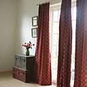 dva panely výšivka panelové vínové ložnice záclony závěsy