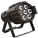 vedly etapa par světla 7x10w 8 kanálů RGBW DMX512 široký řídící napětí lampy pro vánoční dj