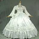 steampunk®gothic bijeli građanski rat južni Belle Lolita lopta haljina haljina
