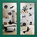 dveřní samolepky dveře obtisky styl halloween sklo dekorace oken z PVC dveří nálepky