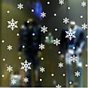 prozor naljepnica klasična snijeg, art deco 10cm * 10cm (0ne komad)